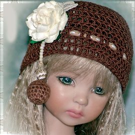 Mary Mary Quite Contrary doll hat
